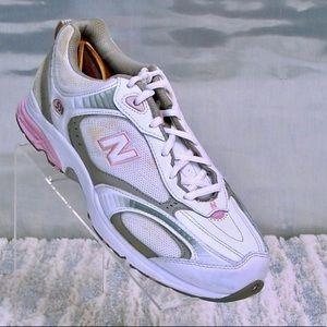New Balance Shoes | New Balance 558 Pink White Sneakers | Poshmark